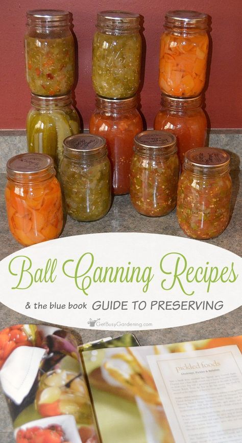 The 25 best ball canning recipe book ideas on pinterest cottage ball canning recipes the book of canning and preserving forumfinder Image collections