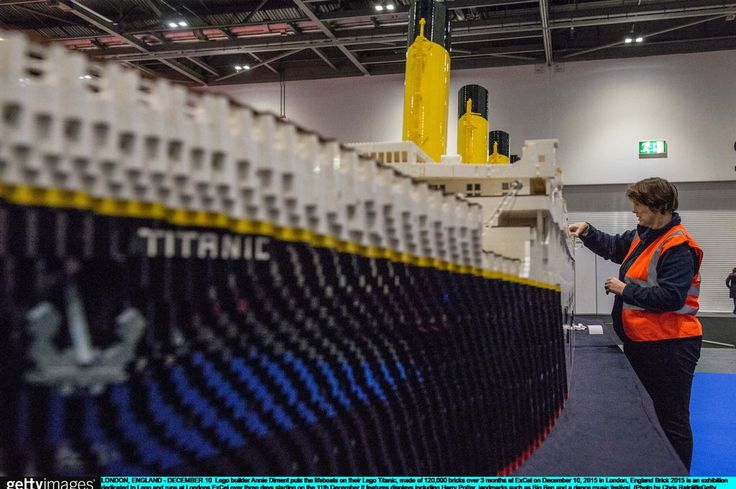 Here's a recreation of the Titanic made entirely out of LEGO - Liverpool Echo