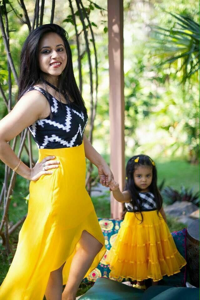 Get beautiful mon n me costumes custom styled specially for you and the little angel. http://myTailor.in
