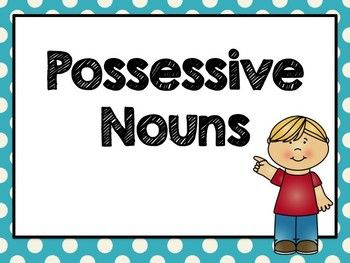 This possessive noun powerpoint is great for introducing or reviewing possessive nouns. I use this on the SmartBoard for a grammar minilesson. I hope you find it helpful!  Check out my other Grammar Activities.