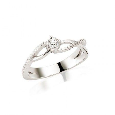 Inel de logodna LRY234 - Diamante - Inele de logodnă