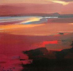 Pam Carter :: Beach at Sunset