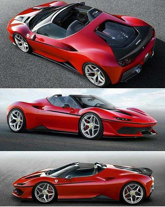 WORLD PREMIERE OF THE FERRARI J50 Tokyo, 13 December 2016 – During a special celebration held at the National Art Center in Tokyo to commemorate the 50th anniversary of Ferrari in Japan, Ferrari revealed a new strictly limited series of bespoke cars, the