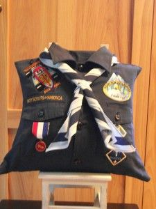 what to do with your scouts old uniform