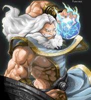 Zeus Smite Pixel by Funkyndez