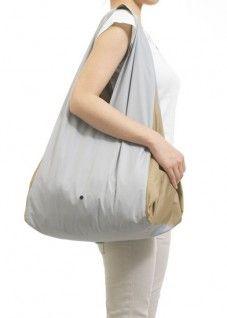 Furoshiki bag with inside pockets