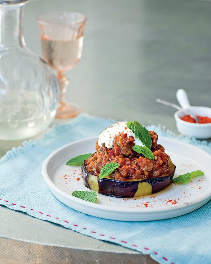 Eggplant with braised beef by Sevtap Yüce | Cooked