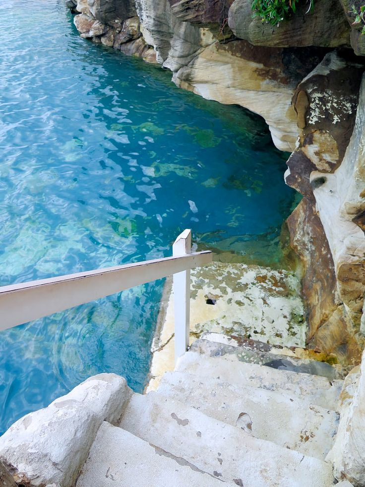 A dip at Bronte Baths will have you feeling a million miles away. http://apairandasparediy.com/2016/02/a-quick-guide-to-sydney.html