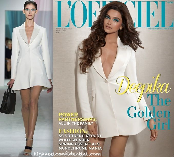 deepika padukone at lofficiel march 2013-dior