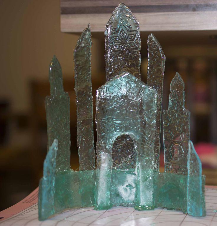 Isomalt Ice Castle For Frozen Cake Cake Decorating