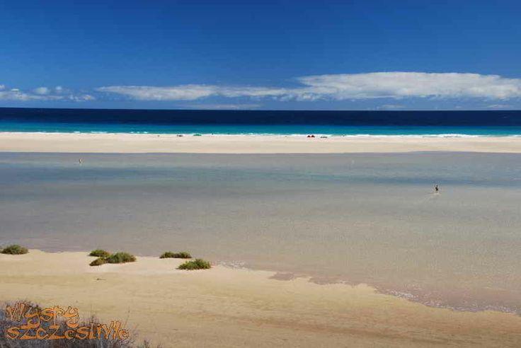Laguna Sotavento w styczniu #Fuerteventura