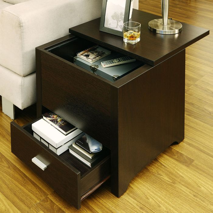 Best 25 End tables with storage ideas on Pinterest Side table