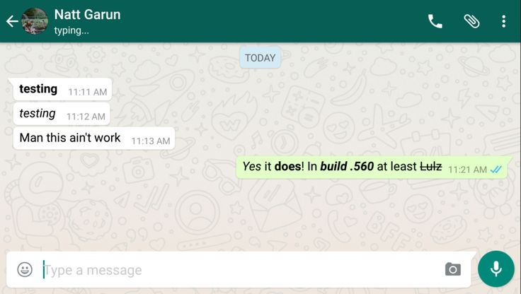 WhatsApp beta adds Quick Reply and font stylizations moms everywhere rejoice
