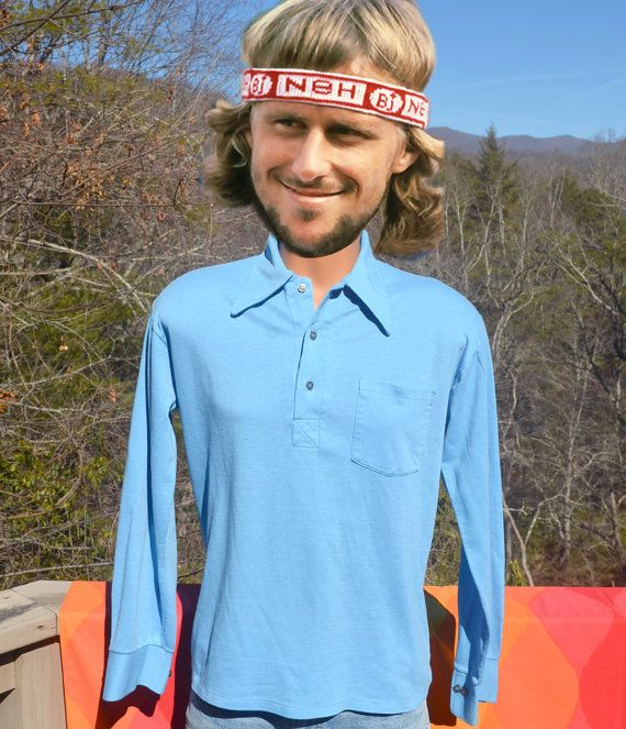 70s vintage GOLF polo shirt long sleeve andhurst by skippyhaha