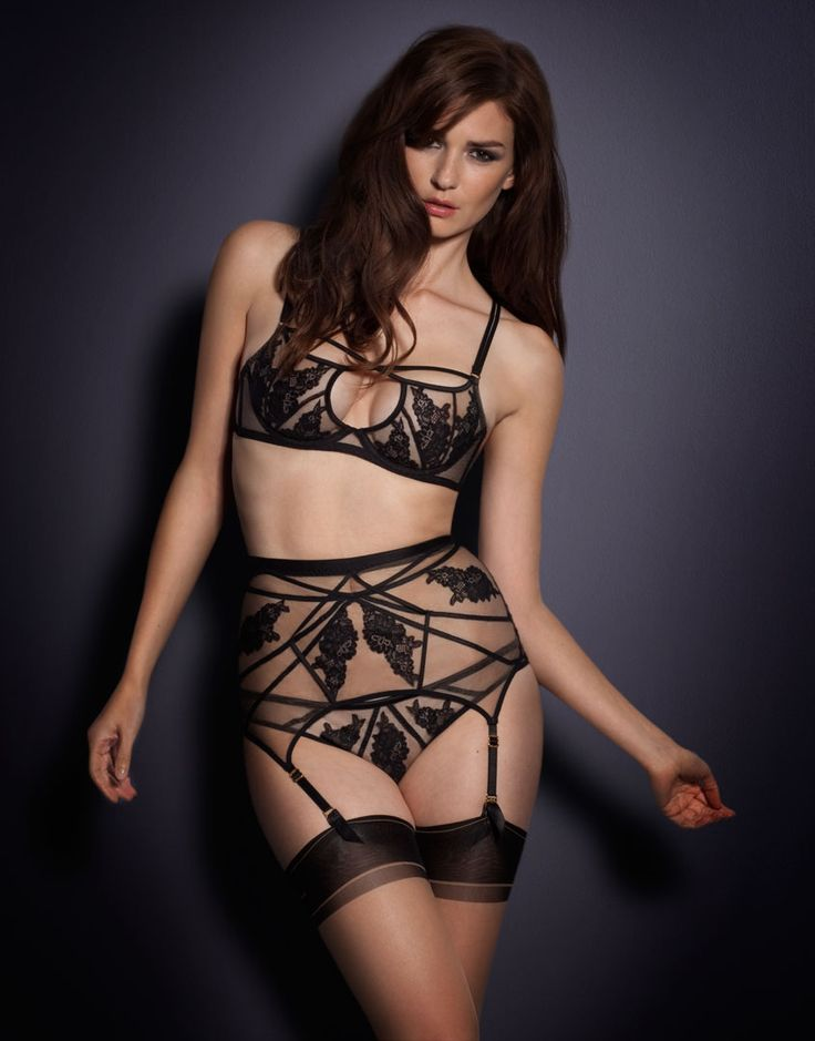 Agent Provocateur sheer loveliness in black