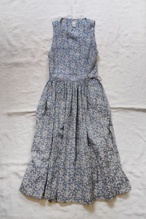 Dosa Rajasthani Wrap Dress レデイース ファッション、ワンピース、麻 服