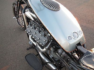 Custom Built Motorcycles : Other Ford Flathead V8 Trike Custom Bobber Chopper Hot Rod Ratrod Motorcycle Bike | Cheap Motorcycles For Sale