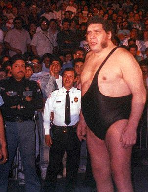 largest athletes andre the giant