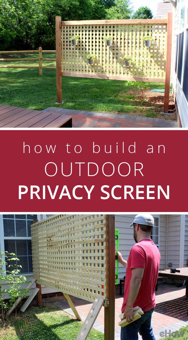 The 25 best outdoor privacy ideas on pinterest small for Outdoor privacy fence screen