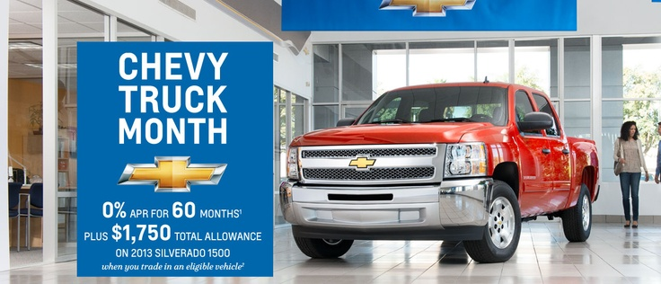 #Chevy #Truck #Month in Mid-Michigan