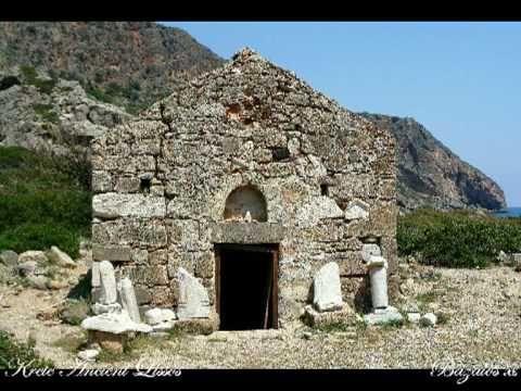 ANCIENT LISSOS CRETE ISLAND HELLAS