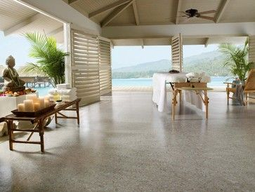 marmoleum floor by Paul Anater Linorette brand linoleum flooring from Armstrong Color:  LP475 Silver City