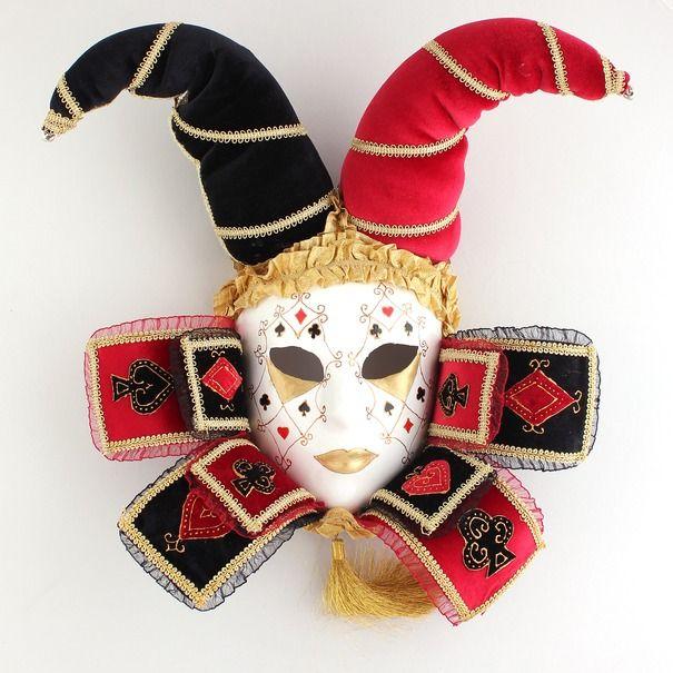 """Ручная работа Интерьерная венецианская маска """"Дама"""""""