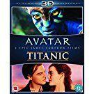 Avatar/Titanic [Blu-ray 3D + Blu-ray] [Region Free] [UK Import]