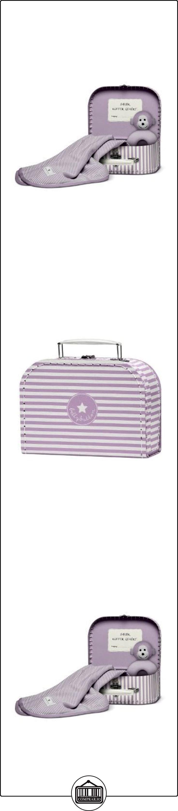 Bellybutton Baby Koffer - Cofre de regalo de bebé (sonajero y manta) white/rose striped purple Talla:M  ✿ Regalos para recién nacidos - Bebes ✿ ▬► Ver oferta: http://comprar.io/goto/B00ET0XPSQ