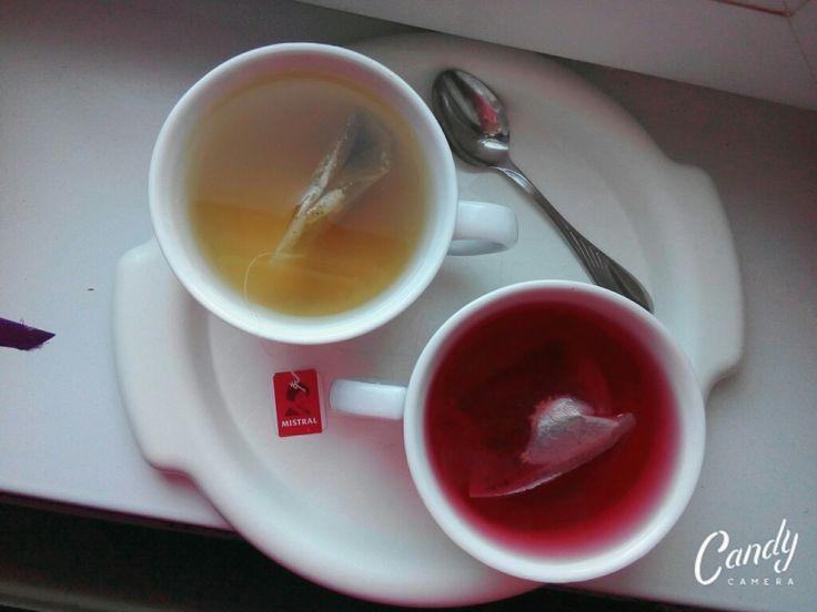 Už je to raz tak ...  som závislá na čajoch. ☕☕