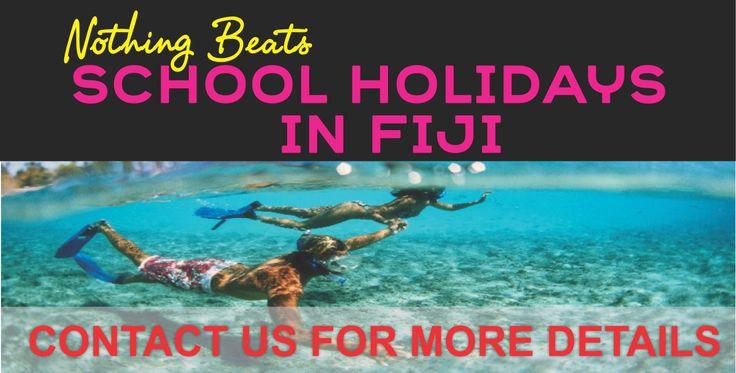Nothing beats a family holiday to Fiji