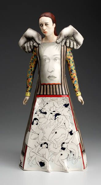 Sergei Isupov (born August 17, 1963) is a ceramic artist born in Stavropol, Russia now living in Cummington, Massachusetts, United States and Tallinn, Estonia. He was educated at the Ukrainian State Art School in Kiev and went on to graduate in 1990 from the Art Institute of Tallinn in Estonia with Bachelor of Arts and Master of Fine Arts degrees in ceramic art. Isupov's parents are both artists, his father, Vladimir, being a painter and his mother, Nelli, a folk sculptor working in…