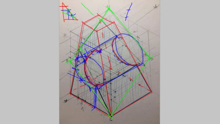 Descriptive Geometry Weird Section - How Do You Solve It
