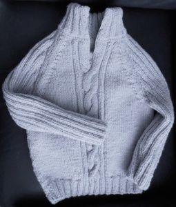 tricot enfant : tricotez le aussi : pull camionneur en 6 ans