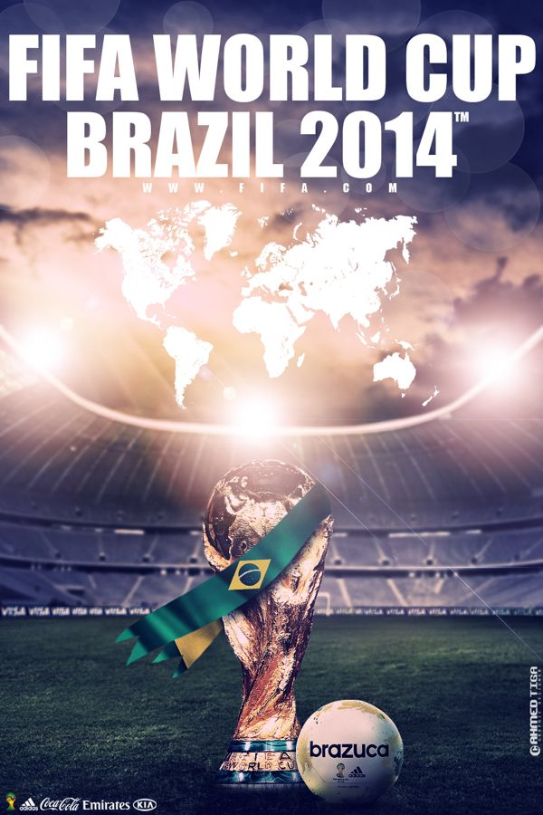 Fifa World Cup Brazil 2014 by Ahmed Tiga, via Behance