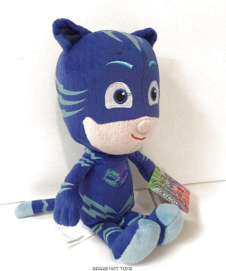 "PJ Masks 8"" Mini Plush Stuffed CATBOY Figure Disney ..."