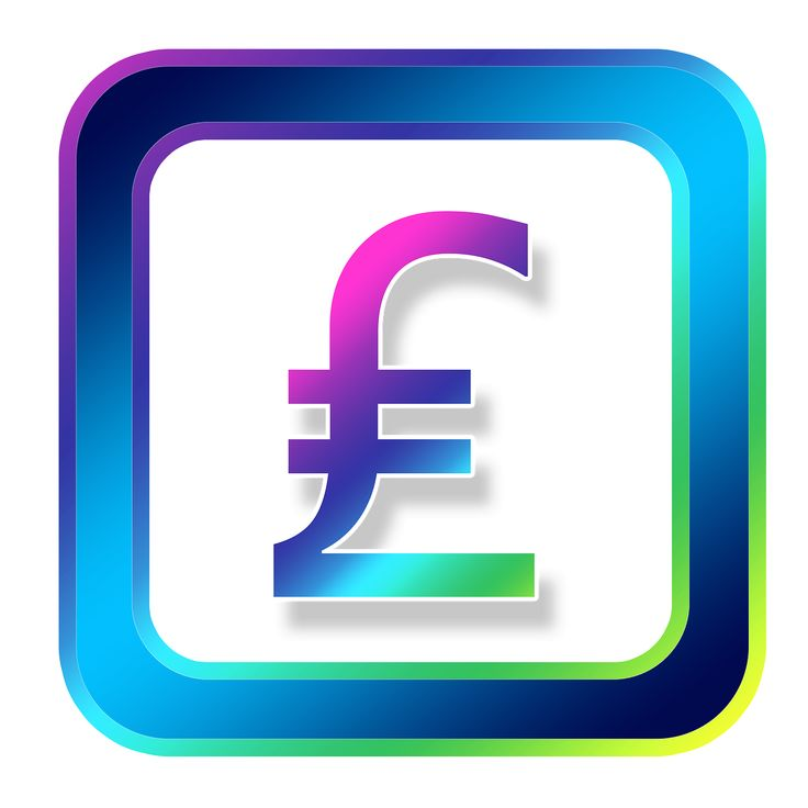 Icon Pound Money Currency