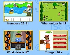A fab collection of Primary French flash games from the BBC. Practise numbers, time, weather and more.