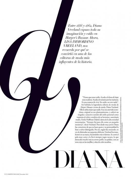 editorial design: