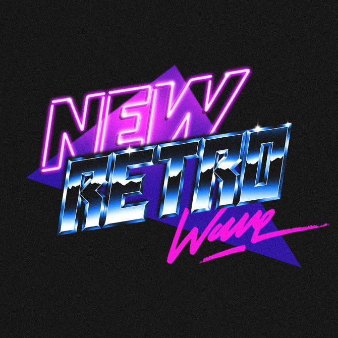 new retro wave overglow overglow retro 80s font type