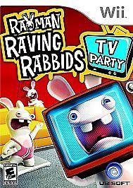 Brand new, sealed Rayman Raving Rabbids: TV Party Nintendo Wii (2008) Game Disc #nintendo #wii #nintendoWii #ravingRabbids #ubisoft #game #videogames