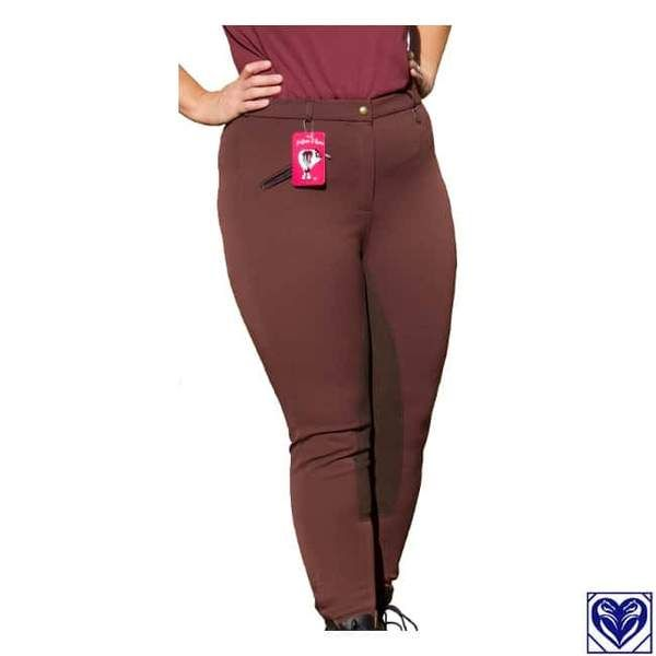 Breeches (Women's, Full Seat) - Fuller Fillies ShowPro Breeches - From Horses are Expensive (Canada's plus size equestrian specialists)