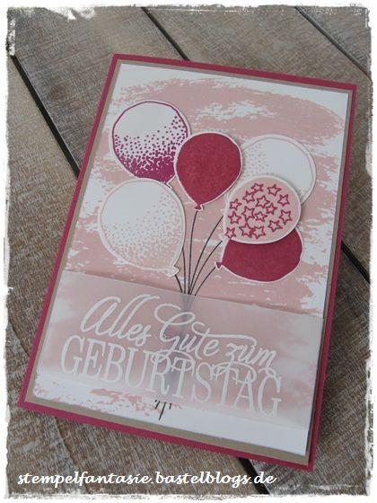 Stampin Up_Geburstag_Karte_birthday_card_Watercolor Wash_Luftballons Partyballons_Stempelfantasie