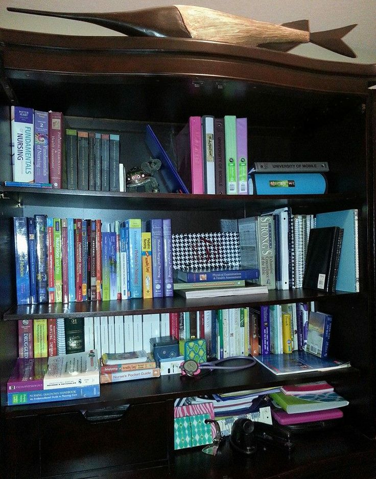 nursing school organization/books