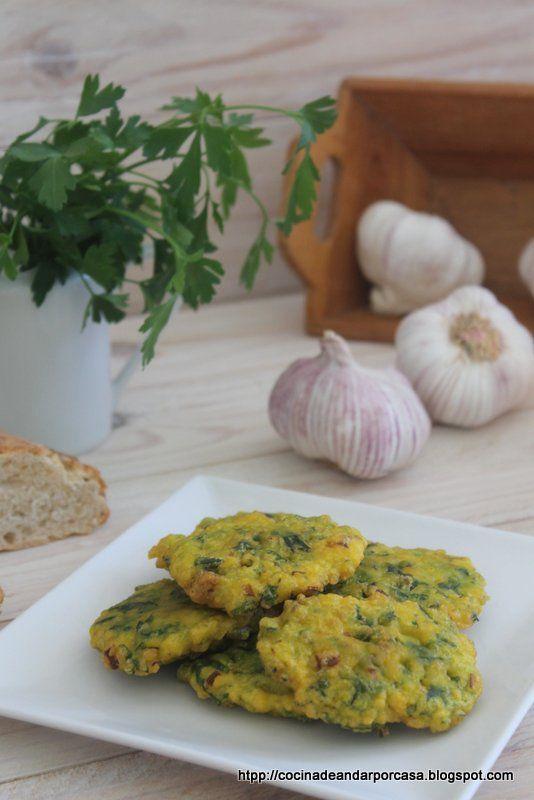 Cocina compartida: Tortillitas de espinacas (como me enseñó mi madre) y el por que de mis ausencias