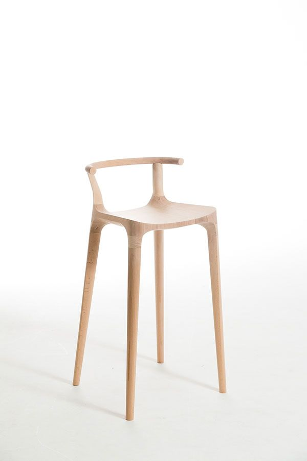 The Elka Stool, an exploration by Industrial Design student Oscar Pipson of organic transitional shapes. Oscar Pipson is a talented Wellington, New Zealand