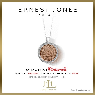Thursday 13th June 2013 - #pinittowinit One winner will be drawn on June 14th 2013. Your Facebook or Twitter account MUST BE linked to your Pinterest profile! Terms and conditions: http://www.ernestjones.co.uk/webstore/static/customerservice/terms_and_conditions.do#pinit