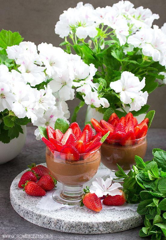 Mus czekoladowy - przepis na Dzień Matki