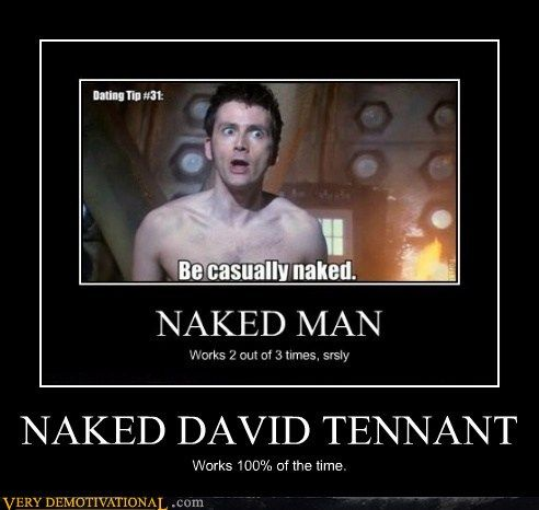 Works every time. #DavidTennant