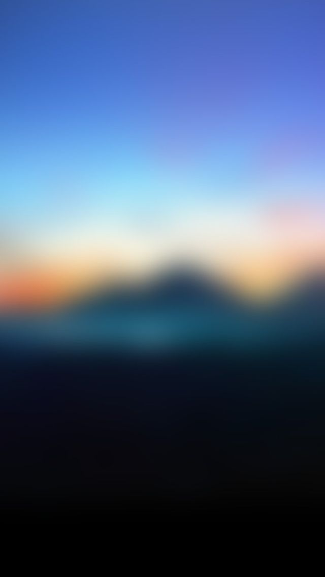Abstract Mountain Sunrise Gradation Blur Background #iPhone #5s #wallpaper